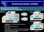communication unifi e