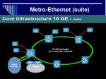metro ethernet suite