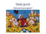 gods gunst