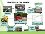 the wou s odl model