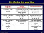 identification des param tres2