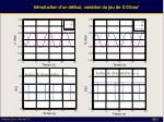 introduction d un d faut variation du jeu de 0 02 rad