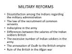 military reforms1