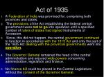 act of 1935