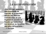 la social d mocratie