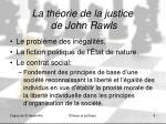 la th orie de la justice de john rawls
