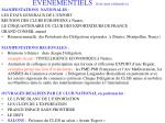 evenementiels liste non exhaustive