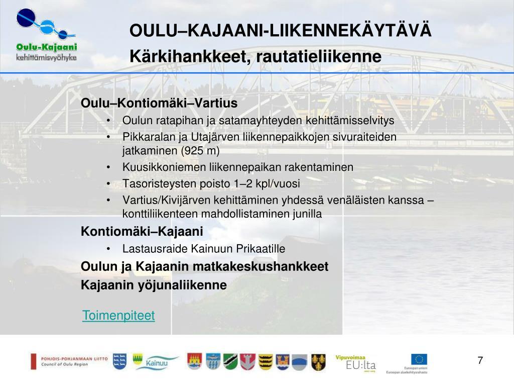 Oulu Kajaani