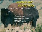 humans and extinction1