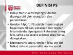 definisi ps