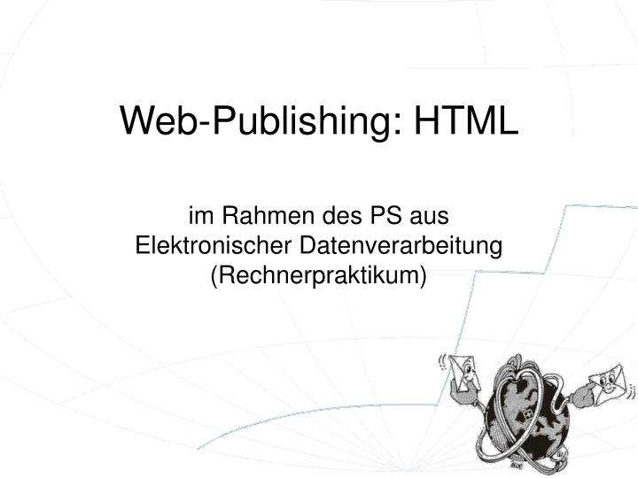 web publishing html n.