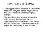 diversity dilemma1
