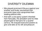 diversity dilemma8