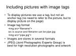 including pictures with image tags
