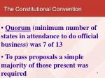 the constitutional convention4