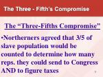 the three fifth s compromise