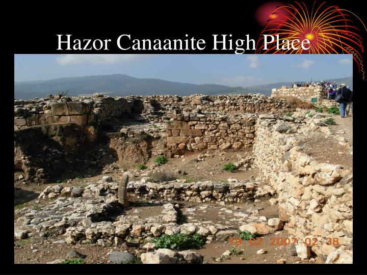 Hazor Canaanite High Place