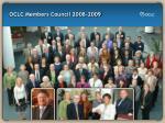oclc members council 2008 2009