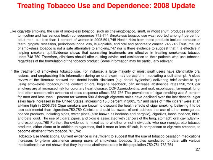 the cardiac health risk from tobacco use essay Tobacco is one of the most of import trade goods in universe trade and is of major importance in the economic system of about all states in the universe.