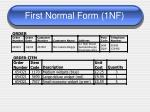 first normal form 1nf5