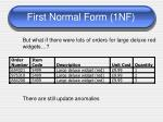 first normal form 1nf6