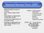 second normal form 2nf1