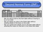second normal form 2nf5