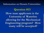 information on ontario universities25