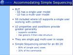 accommodating simple sequencing1