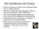 sil fieldworks da tool s