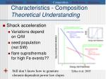characteristics composition theoretical understanding2
