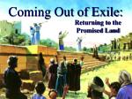coming out of exile