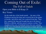 coming out of exile the fall of judah4