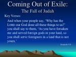 coming out of exile the fall of judah7