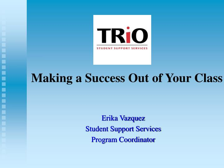 making a success out of your class n.