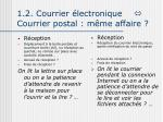 1 2 courrier lectronique courrier postal m me affaire2
