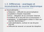1 3 diff rences avantages et inconv nients du courrier lectronique1