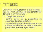 4 intervalles de fluctuation 4 1 d finition