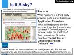 is it risky