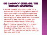 die sandwich generasie the sandwich generation1