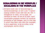 sosialisering in die werkplek socialising in the workplace2