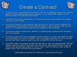 create a contract
