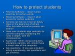 how to protect students