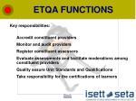 etqa functions