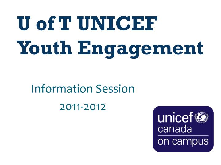 u of t unicef youth engagement n.
