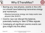 why etransmiss