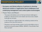 phosphorus project