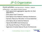 jp g organization