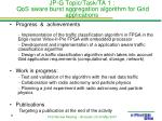 jp g topic task ta 1 qos aware burst aggregation algorithm for grid applications1