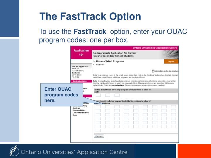 The FastTrack Option